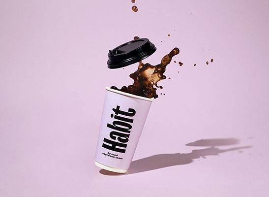 Больше, чем просто кофе - визуальная айдентика бренда Habbit Coffee