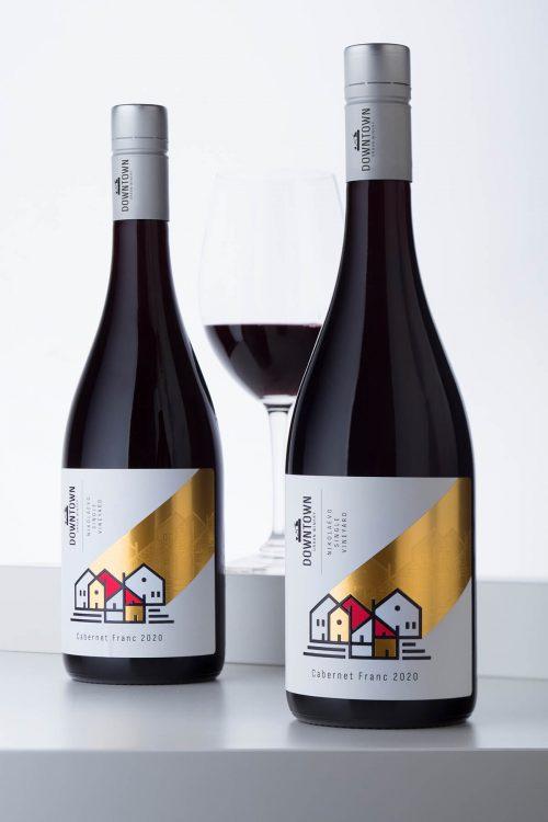 Винная этикетка Downtown Urban Winery