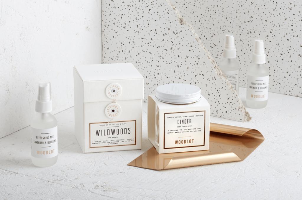 Дизайн упаковки свечей Woodlot