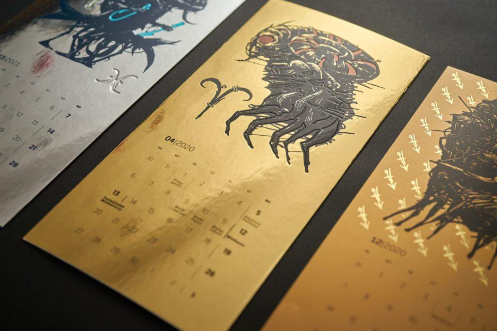 Календарь от Intercard